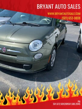 2015 FIAT 500 for sale at BRYANT AUTO SALES in Bryant AR