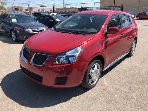 2010 Pontiac Vibe for sale at Legend Auto Sales in El Paso TX