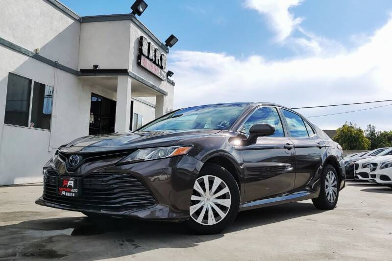 2018 Toyota Camry Hybrid for sale at Fastrack Auto Inc in Rosemead CA