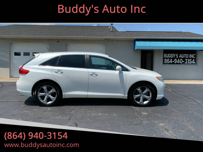 2010 Toyota Venza for sale at Buddy's Auto Inc in Pendleton, SC