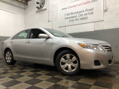 2010 Toyota Camry for sale at County Car Credit in Cleveland OH