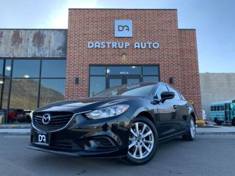 2017 Mazda MAZDA6 for sale at Dastrup Auto in Lindon UT