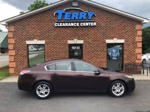 2010 Acura TL for sale at Terry Clearance Center in Lynchburg VA