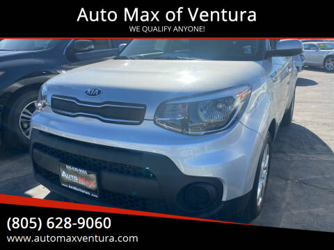 2017 Kia Soul for sale at Auto Max of Ventura in Ventura CA