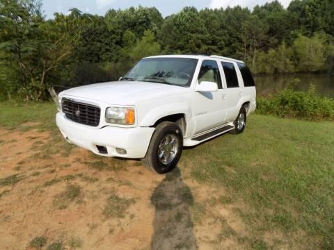 2000 Cadillac Escalade for sale at S.S. Motors LLC in Dallas GA