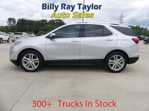 2018 Chevrolet Equinox for sale at Billy Ray Taylor Auto Sales in Cullman AL