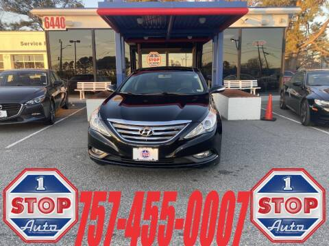 2014 Hyundai Sonata for sale at 1 Stop Auto in Norfolk VA