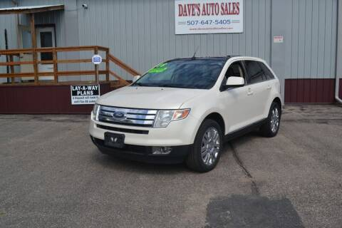 2008 Ford Edge for sale at Dave's Auto Sales in Winthrop MN