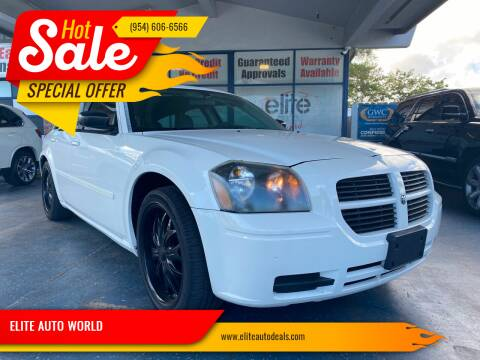 2006 Dodge Magnum for sale at ELITE AUTO WORLD in Fort Lauderdale FL