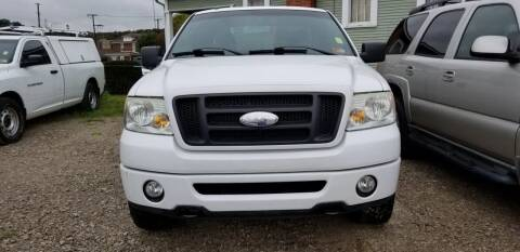 2006 Ford F-150 for sale at Sissonville Used Cars in Charleston WV