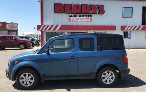 2008 Honda Element for sale at Berry's Cherries Auto in Billings MT