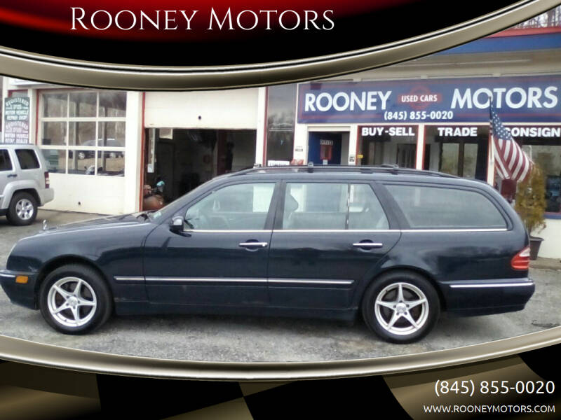 2000 Mercedes-Benz E-Class for sale at Rooney Motors in Pawling NY