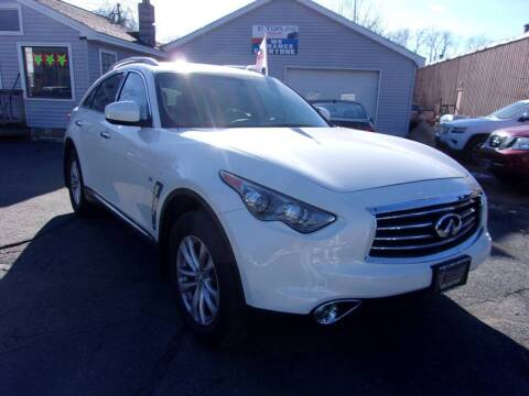 2015 Infiniti QX70 for sale at Top Line Import in Haverhill MA