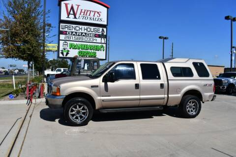 1999 Ford F-250 Super Duty for sale at WHITT'S AUTO SALES, LLC in Houston TX