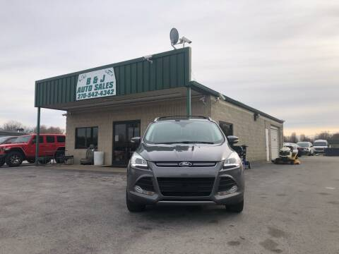 2013 Ford Escape for sale at B & J Auto Sales in Auburn KY