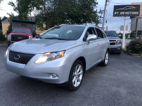 2010 Lexus RX 350 for sale at RT28 Motors in North Reading MA