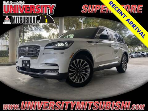 2020 Lincoln Aviator for sale at FLORIDA DIESEL CENTER in Davie FL