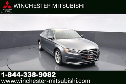 2015 Audi A3 for sale at Winchester Mitsubishi in Winchester VA