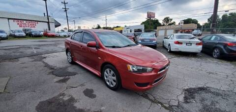 2012 Mitsubishi Lancer for sale at Green Ride Inc in Nashville TN