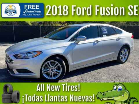 2018 Ford Fusion for sale at LIQUIDATORS in Houston TX