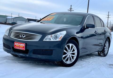 2007 Infiniti G35 for sale at SOLOMA AUTO SALES in Grand Island NE