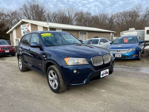 2011 BMW X3 for sale at Victor's Auto Sales Inc. in Indianola IA