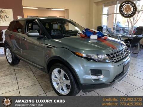 2015 Land Rover Range Rover Evoque for sale at Amazing Luxury Cars in Snellville GA