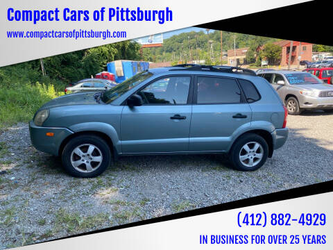 2005 Hyundai Tucson for sale at Compact Cars of Pittsburgh in Pittsburgh PA