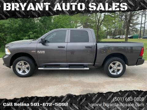 2014 RAM Ram Pickup 1500 for sale at BRYANT AUTO SALES in Bryant AR