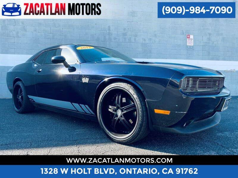 2012 Dodge Challenger for sale at Ontario Auto Square in Ontario CA