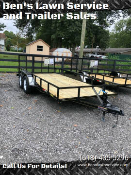 2020 Trailer Express 16'Utility for sale at Ben's Lawn Service and Trailer Sales in Benton IL