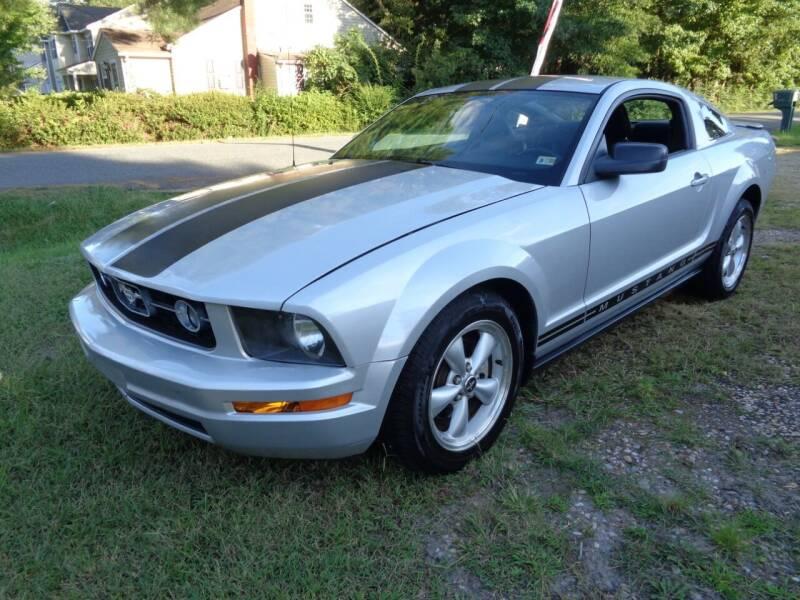 2007 Ford Mustang for sale at Liberty Motors in Chesapeake VA
