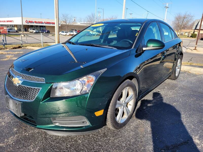 2014 Chevrolet Cruze for sale at The Auto Store in Griffith IN