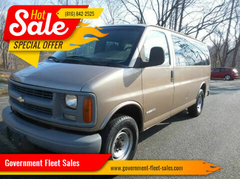 2002 Chevrolet Express Passenger for sale at Government Fleet Sales in Kansas City MO