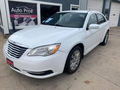 2012 Chrysler 200 for sale at AutoPros - Waterloo in Waterloo IA