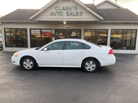 2010 Chevrolet Impala for sale at Clarks Auto Sales in Middletown OH