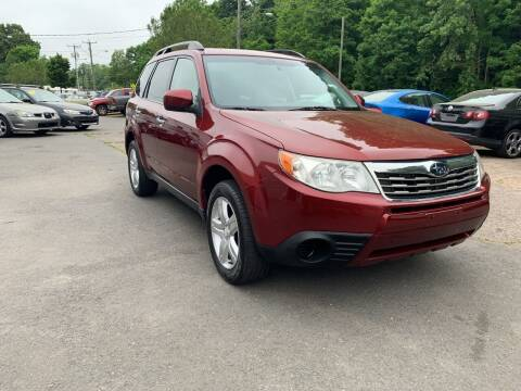 2010 Subaru Forester for sale at Manchester Auto Sales in Manchester CT