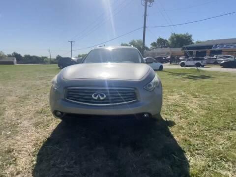 2011 Infiniti FX35 for sale at N & A Metro Motors in Dallas TX