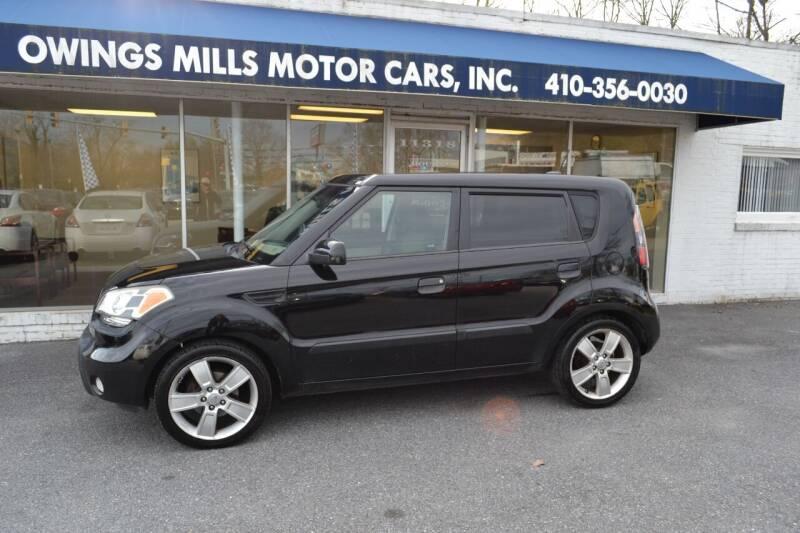 2010 Kia Soul for sale at Owings Mills Motor Cars in Owings Mills MD