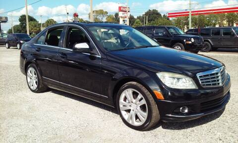 2008 Mercedes-Benz C-Class for sale at Pinellas Auto Brokers in Saint Petersburg FL