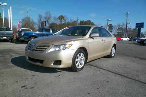 2011 Toyota Camry for sale at Paniagua Auto Mall in Dalton GA