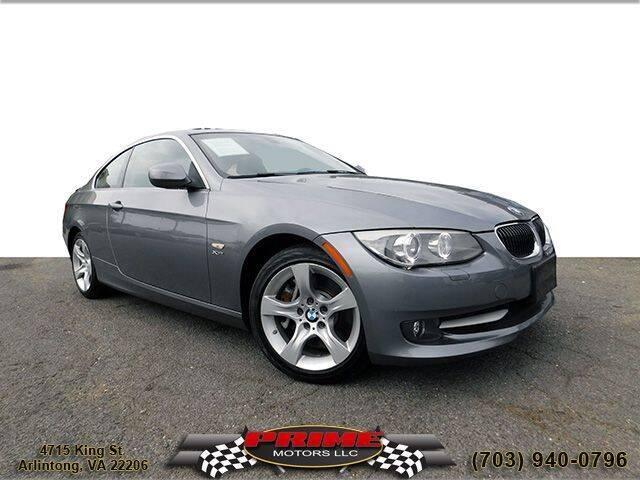 2012 BMW 3 Series for sale at PRIME MOTORS LLC in Arlington VA