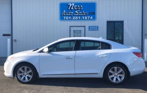 2012 Buick LaCrosse for sale at NESS AUTO SALES in West Fargo ND
