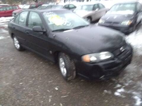 2002 Nissan Sentra for sale at Continental Auto Sales in White Bear Lake MN