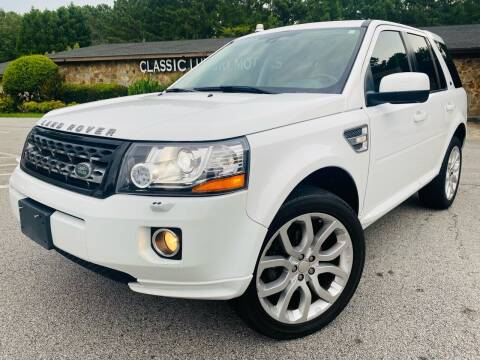 2014 Land Rover LR2 for sale at Classic Luxury Motors in Buford GA