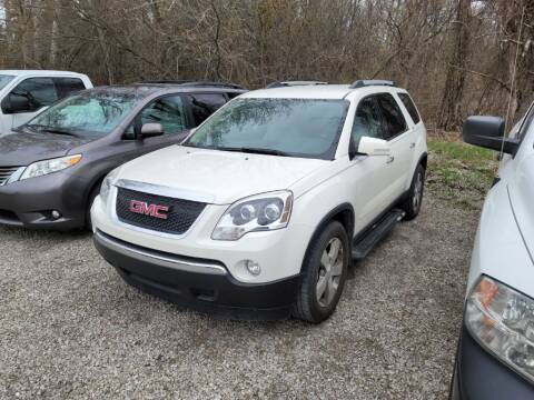 2010 GMC Acadia for sale at Clare Auto Sales, Inc. in Clare MI