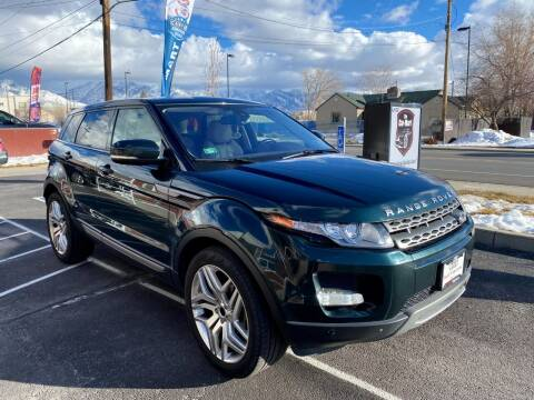 2013 Land Rover Range Rover Evoque for sale at The Car-Mart in Murray UT