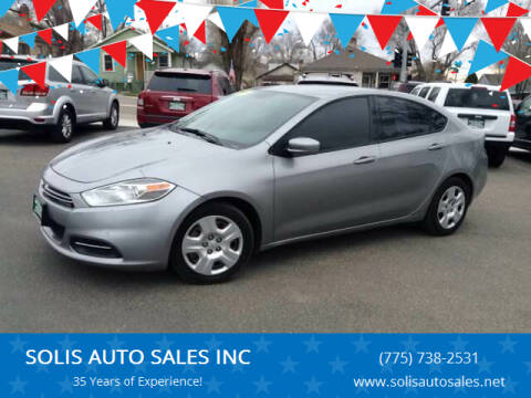 2015 Dodge Dart for sale at SOLIS AUTO SALES INC in Elko NV