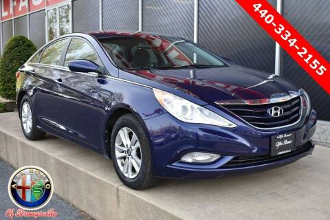 2013 Hyundai Sonata for sale at Alfa Romeo & Fiat of Strongsville in Strongsville OH