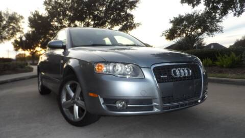 2007 Audi A4 for sale at Exhibit Sport Motors in Houston TX